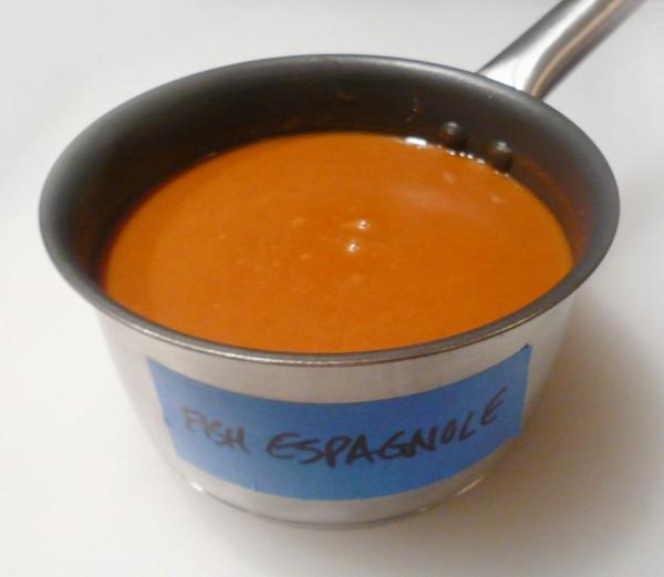 Sauce Espagnole Maigre