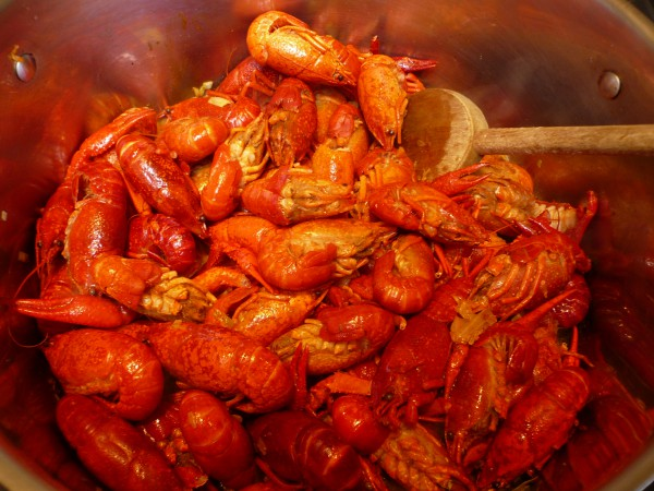 crayfish butter - add crayfish